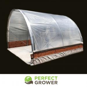 outdoor cannabis grow tarp greenhouse